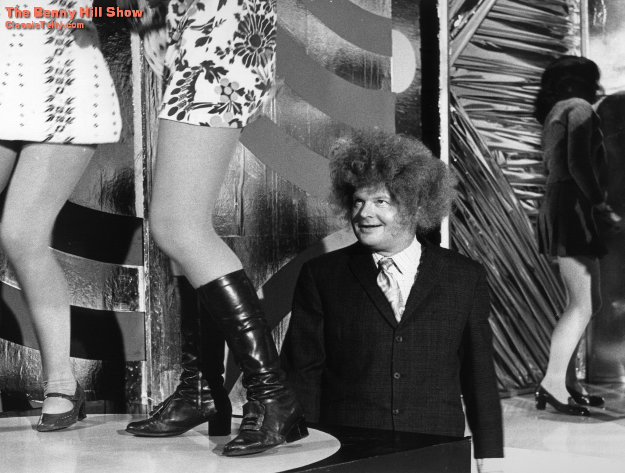 Classic Telly The Benny Hill Show Desktop Wallpaper